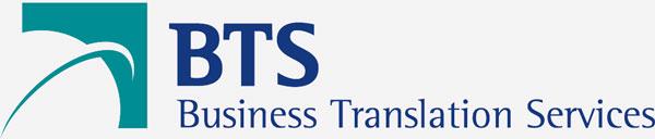 Logo BTS Empresa de Tradução