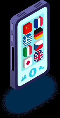 Empresa de tradução idiomas pelo celular